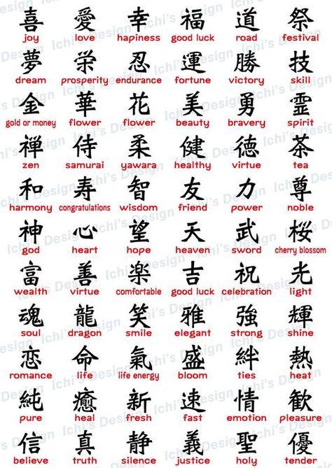 Japanese Kanji Set instant download / eps / png /svg   Etsy