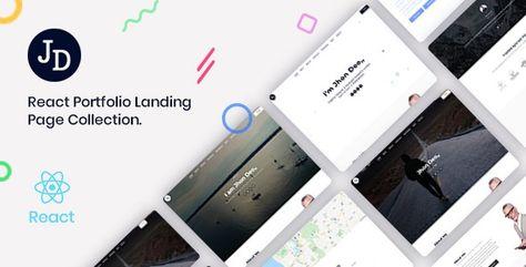 John — React Minimal Portfolio OnePage Template | Stylelib