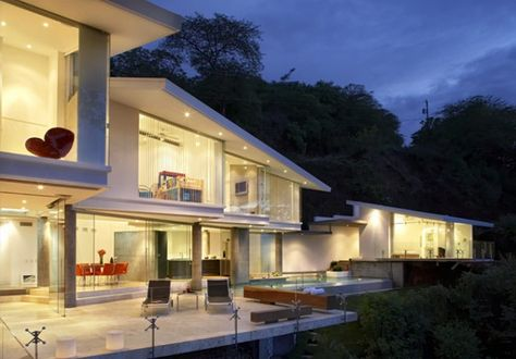 Victor Canas Costa Rican Getaway House Tropical House Design