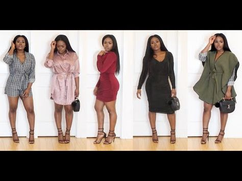 d20f18976b Holiday Party Try on Haul - YouTube