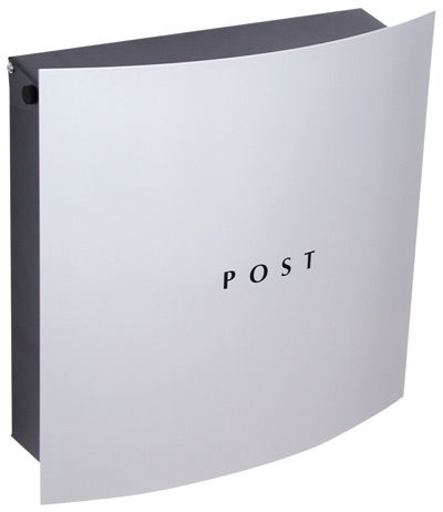 Residential Mailboxes Locking Wall Mount Knobloch Hollywood Grey Residential Mailboxes Modern Mailbox Wall Mount Mailbox