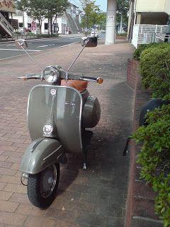 Bajaj Chetak In Japan Vespa 3 Wheel Scooter Bike