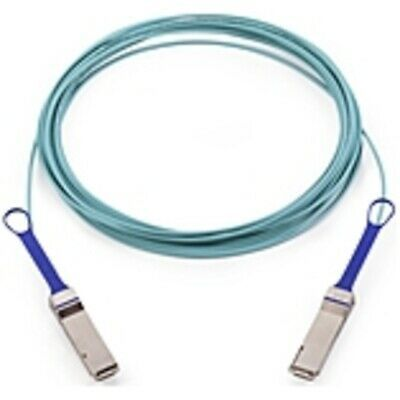 Ebay Ad Url Mellanox Active Fiber Cable Eth 100gbe 100gb S Qsfp 10m 32 81 Ft Fiber Opt In 2020 Network Cable Fiber Optic Fiber Optic Cable