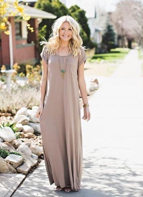 d07d25111a48 Платье-балахон | Что надеть и как одеваться в 2019 г. | Платья и Лето