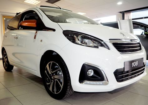 The Peugeot 108 Top Roland Garros Special Edition At Our