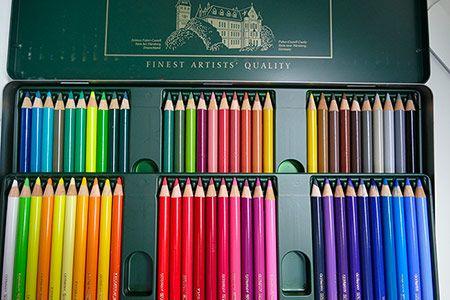 Avis Sur Les Polychromos De Chez Faber Castell Coloriage Faber