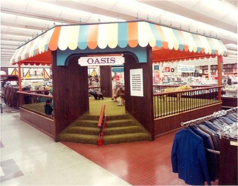 One of the themed play area\u0027s of Meijers Store\u0027s No More