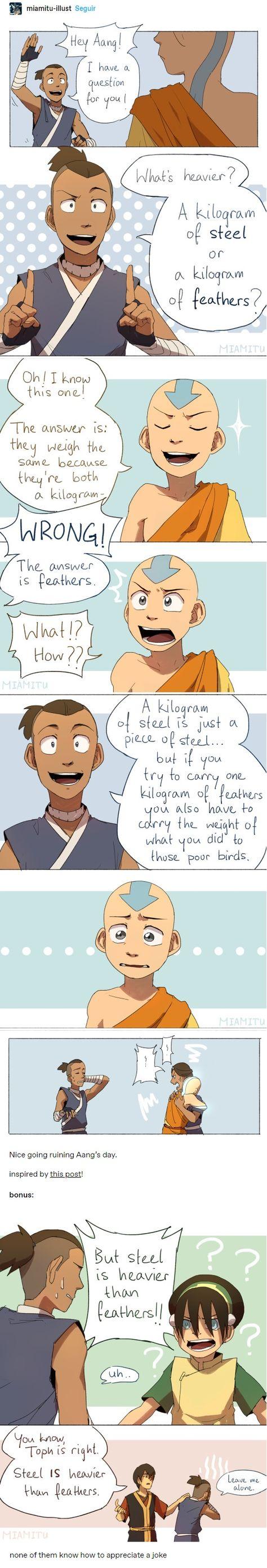 Avatar The Last Airbender Funny, The Last Avatar, Avatar Funny, Avatar Airbender, Avatar Aang, Haha Funny, Funny Memes, Mejores Series Tv, Atla Memes