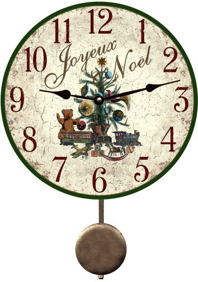 Pin By Kenda Davis 3 Peat On Christmas Time Xmas Clock Christmas Clock Clock