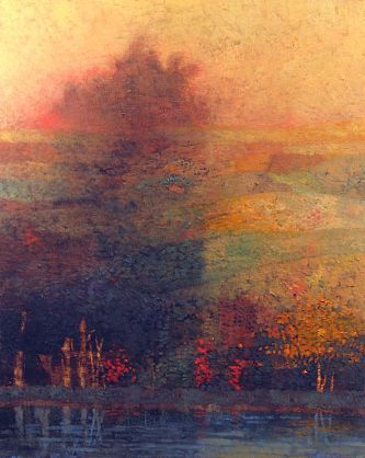 Mark English-'Yellow Sky'-Telluride Gallery of Fine Art