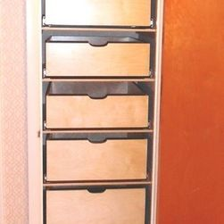 Pull Out Cabinet Drawers Linen Closet Shelves Organize