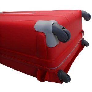 EU限定 サムソナイト フレームタイプ エアリス LLサイズ 81cm 118.5L 4輪 ブラック 大型 国内線無料受託手荷物サイズ 長期旅行 スーツケース キャリーケース