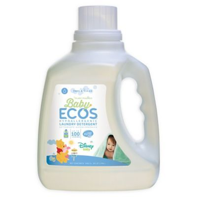Baby Ecos Free Clear Disney 100 Ounce Laundry Detergent