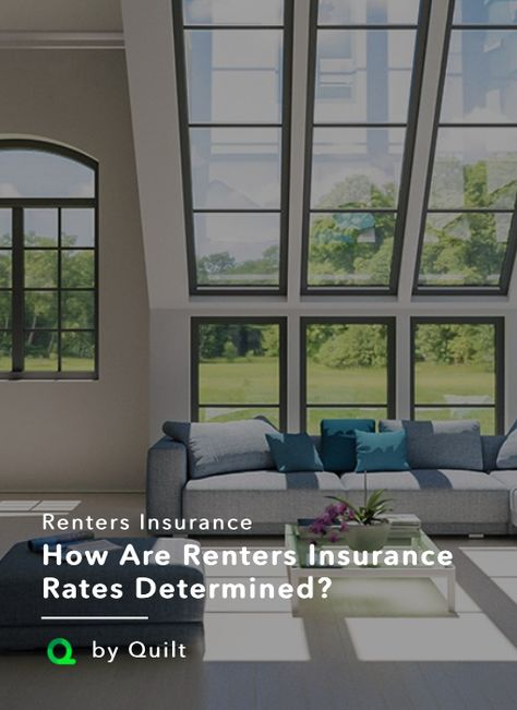 How renters insurance is priced   Renters insurance ...