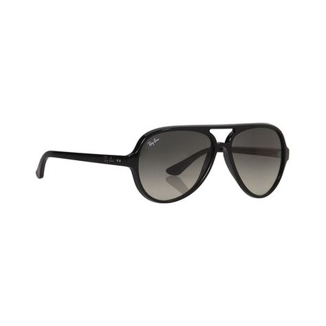 1c69298a24de Ray-Ban RB4125 Cats 5000 59mm Sunglasses ( 150) ❤ liked on Polyvore  featuring
