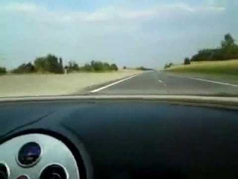 bugatti veyron top speed on autobahn | car videos | pinterest
