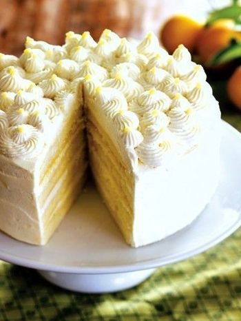 Enjoy this Italian-inspired lemon-flavored limoncello cake with a creamy mascarpone cheese frosting. Try this simple recipe.