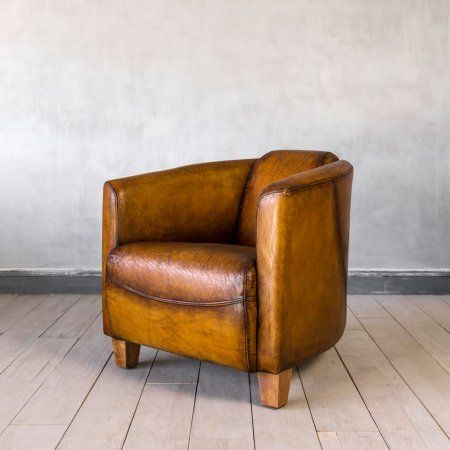 Brown Leather Rocket Chair Sofas Seating Graham Green