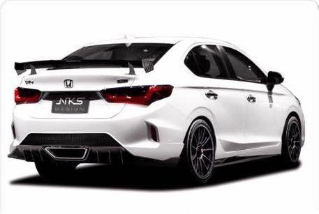 2020 Honda City Modified With Bodykit For Honda Nsx Resemblance In 2020 Honda City Honda New Honda