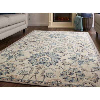 Canora Grey Avel Gray Area Rug In 2021 Grey Area Rug Area Rugs Blue Area Rugs