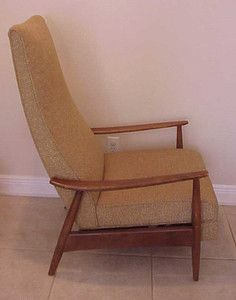estate DANISH mid century MODERN RECLINING LOUNGE CHAIR 60u0027S | eBay. Kinda cool; it & Ekornes Stressless Large Recliner Lounge Chair Danish Modern ... islam-shia.org