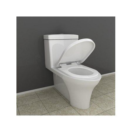 Ifair Mall Soft Close Easy Cleaning Toilet Seat With Cover U V
