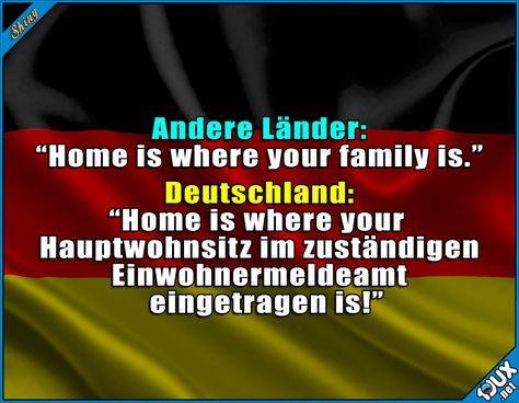 Alles muss seine Ordnung haben! #Deutschland #typischdeutsch #quotes #lustigeSprüche #Humor
