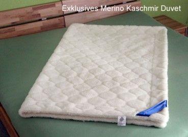 Merino Kaschmir Duvet Besonders Gemutlich Und Gesund Bettdecke