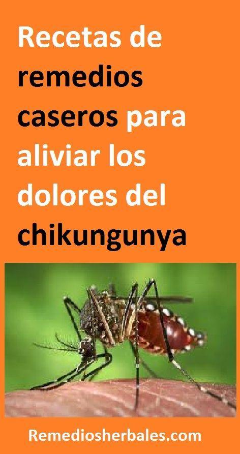 remedios caseros para chikungunya