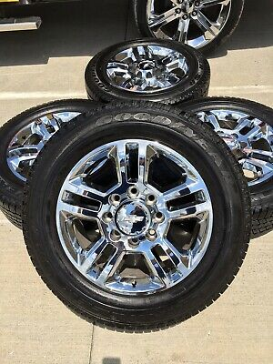 Advertisement Ebay 20 Chevy Silverado High Country 2500 3500 Oem Wheels Rims 5705 2018 2019 Oem Wheels Chevy