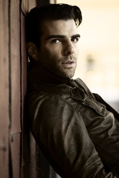 Zachary Quinto. Sir, I don't know you, but I want to know you...very well.