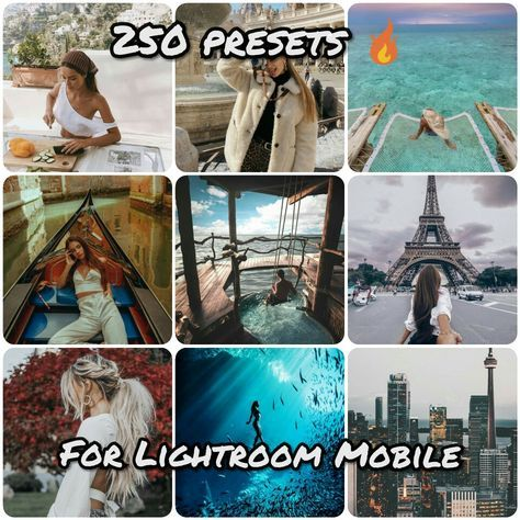 Premium Presets pack for lightroom mobile | Places to Visit