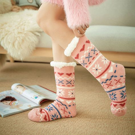 Chritmas Reindeer Compression Socks For Women 3D Print Knee High Boot