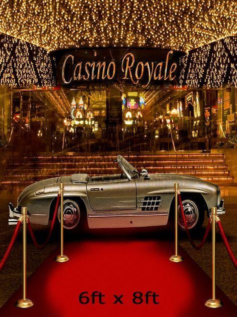 Casino Royale 007 Backdrop, James Bond Photo Backdrop, Red Carpet Casino Night, Homecoming, Dance, Secret Agent, Spy, Party, Dance, Event