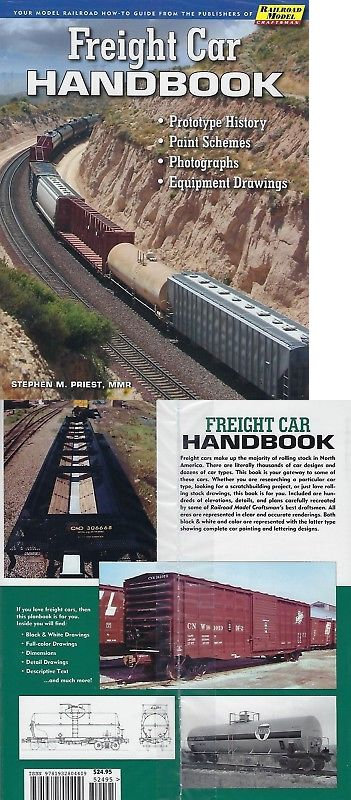 Books and Guides 9047: Freight Car Handbook: History, Paint