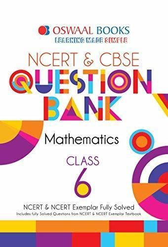 Oswaal NCERT and CBSE Class 6 Maths Question Bank (For March