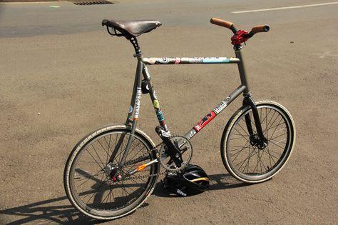Minivelo Fixed Gear Sepeda Kendaraan
