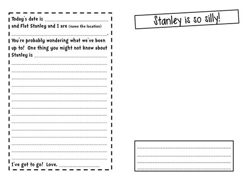 flat stanley template Flat Stanleyu0027s Travel Journal! School - flat stanley template