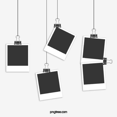Black And White Photographic Paper, Photo, Office Supplies, Polaroid PNG Transparent Clipart Image and PSD File for Free Download