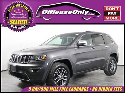 Ebay Grand Cherokee Limited Off Lease Only 2017 Jeep Grand
