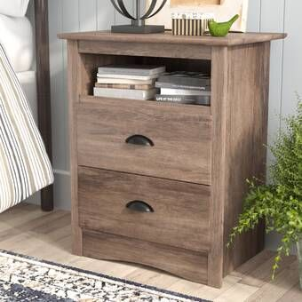 Valencia 1 Drawer Nightstand In 2020 2 Drawer Nightstand