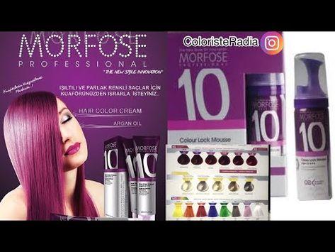 Catalogue Morfose مورفوز كتالوج Radiaia Coloriste Youtube In 2021 Color Locks Hair Hair Straightener