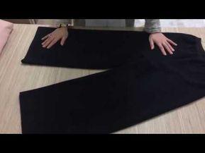 Dikis Hocam En Kolay Lastikli Cocuk Pantolonu 1 Bolum Kalip Yerlestirme Ve Kesim Youtube