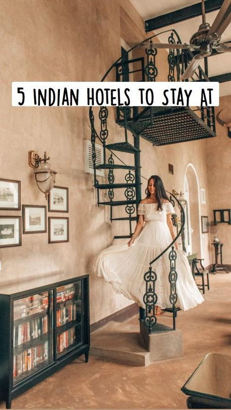 5 Indian Hotels to Stay At