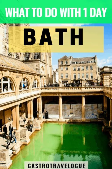How to make the most of a day in Bath - #bath #england #somerset #roman #bathguide #romanbaths #bathabbey #daytrip #gastrotravelogue #travel
