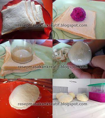 Resep Es Krim Goreng Buah Naga Pakai Roti Tawar Food Eggs Breakfast