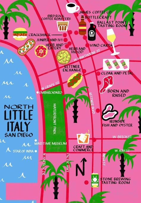 San Diego is one of our favorite places for a weekend away and the North Little Italy (aka NoLI) neighborhood is where we always spend a few hours to shop, s #noli #sandiego #california #travel