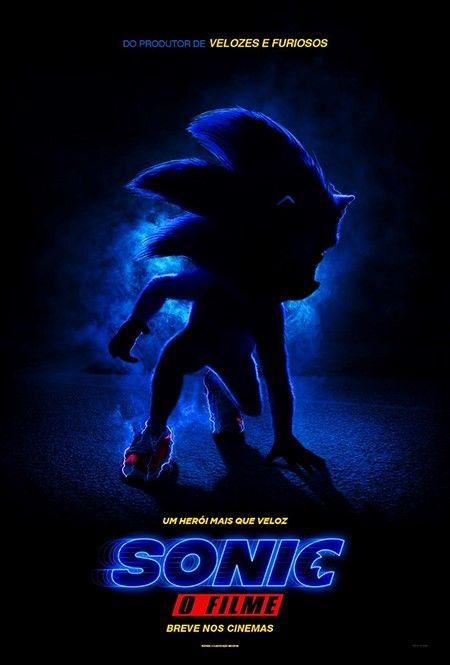 Paramount Pictures Divulga Primeiro Cartaz Oficial De Sonic O
