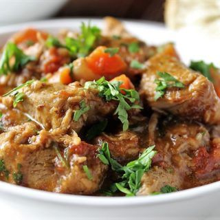 Veal Stew With Wine Zest And Thyme Recipe Veal Recipes Veal Stew Potluck Dishes