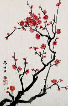 1000 Ideas About Cherry Blossom Painting On Pinterest Japanese Cherry Blossom Painting Cherry Blossom Art Blossoms Art